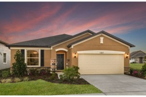The Oasis Model Tour Centex/Pulte Homes Riverview Florida
