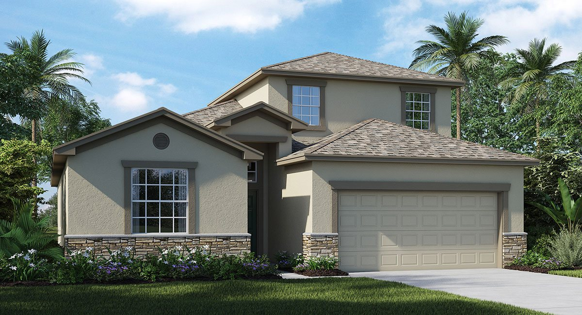 The Simmitano Model Tour Lennar Homes Riverview Florida