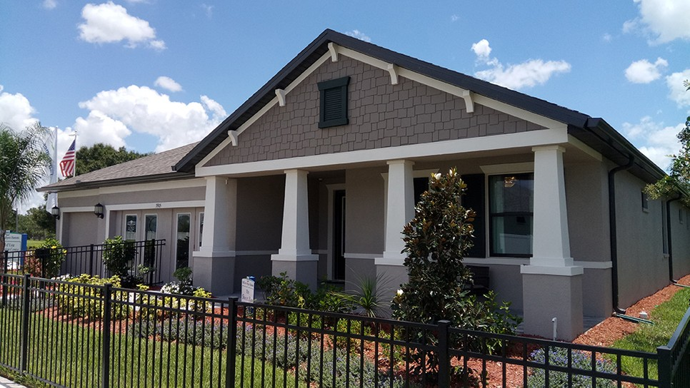 Villa d' Este in the Villages at Cypress Creek New Home Community Sun City Center Florida