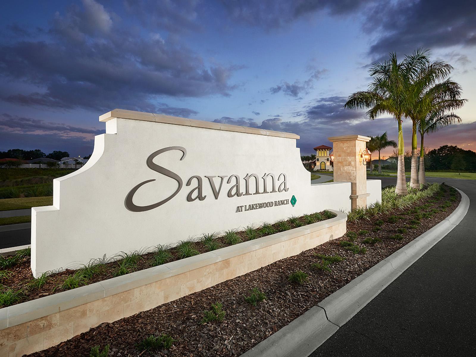 Savanna New Home Community Lakewood Ranch Florida