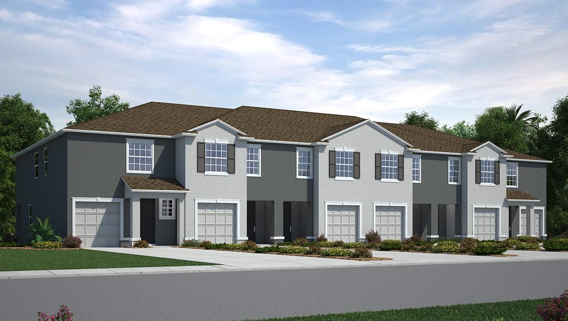 The Loft New Town Home Community Ruskin Florida