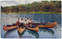 Old Postcard of the Milwaukee River
