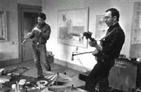Thomas Gaudynski and Steve Nelson-Raney perform at St. Michael's Waiting Room in 1978.