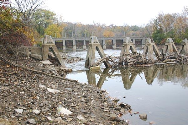 Estabrook Dam fall 2015 web