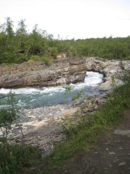 Abiskojokka gorge