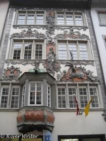 Zum Steinbok, 1750, Guild house of the butchers.