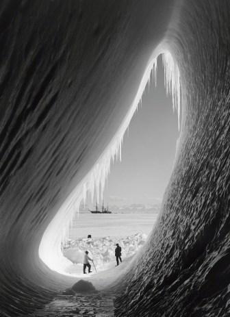 Ice cave with Terra Nova
