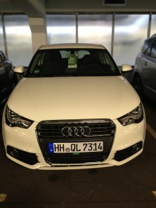 The Audi A1. My ticket to speed. Literally