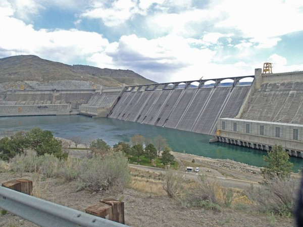 The Grand Coulee Dam on the mighty Columbia Photo: C. Heg