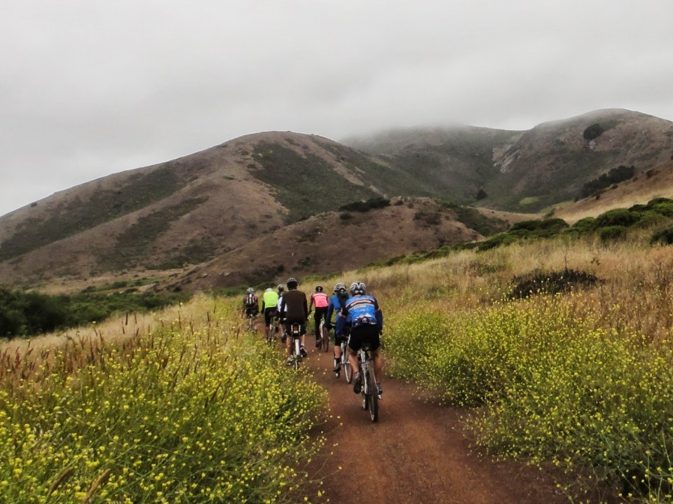 Early Spring LRLR training ride. Photo: M. Uz