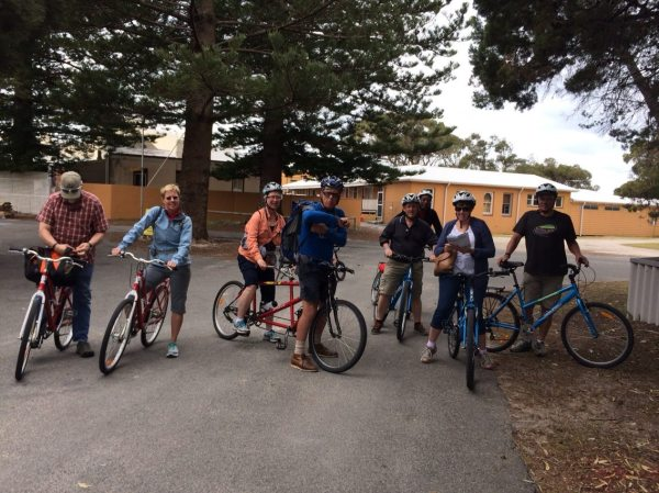 Lining up for the Rottnest Island 1200k. photo: Banks