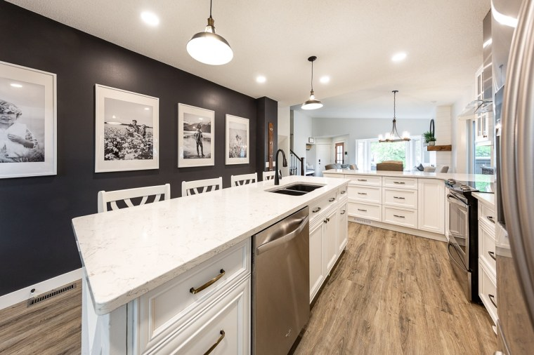 custom kitchen remodel sherwood park