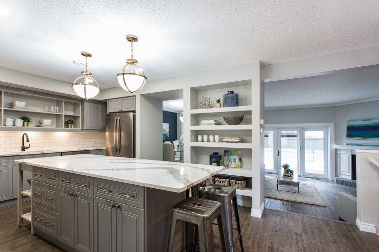 custom kitchen renovation in sherwood park