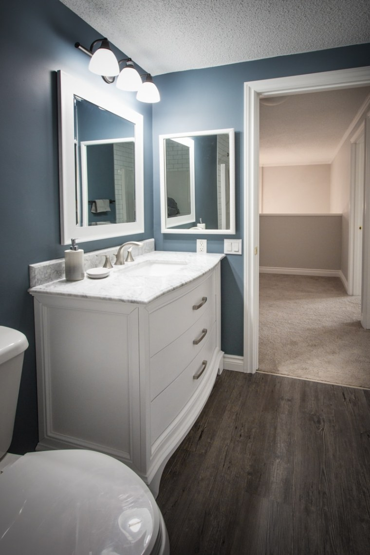custom bathroom renovation in edmonton sherwood park
