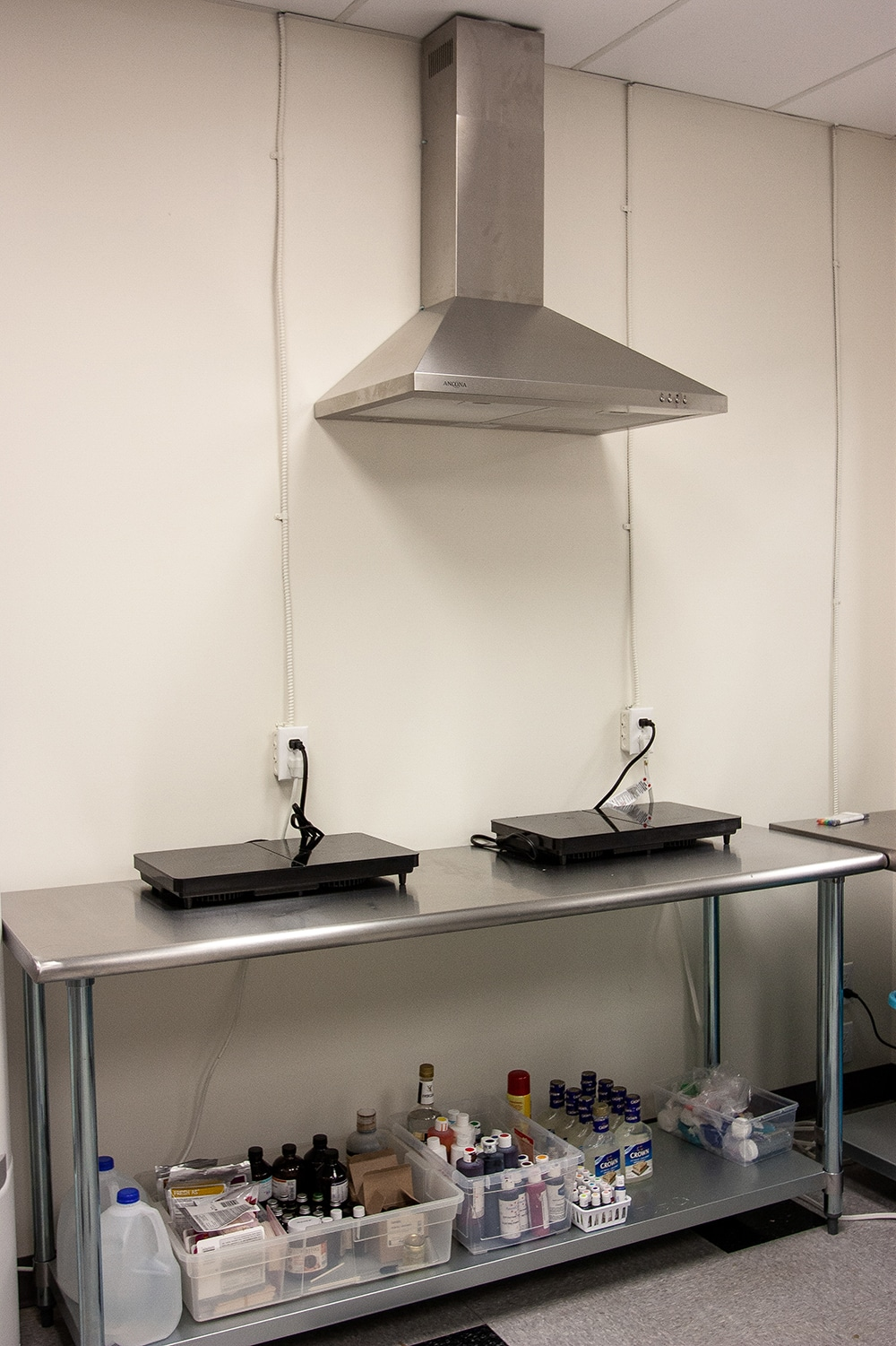 range and cooktops in bakery