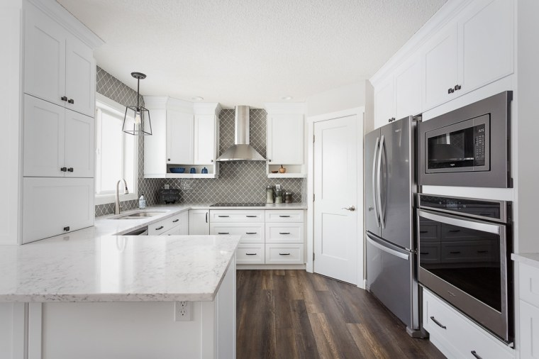 custom home kitchen renovation in sherwood park edmonton