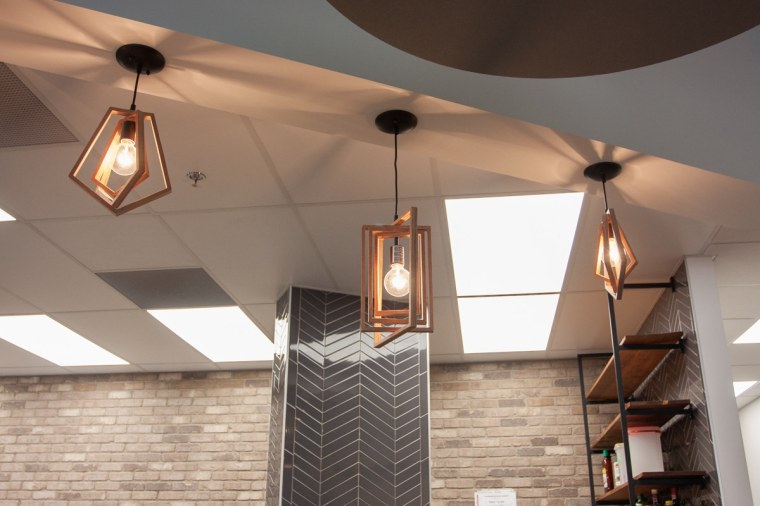 light fixtures common ground cafe sherwood park