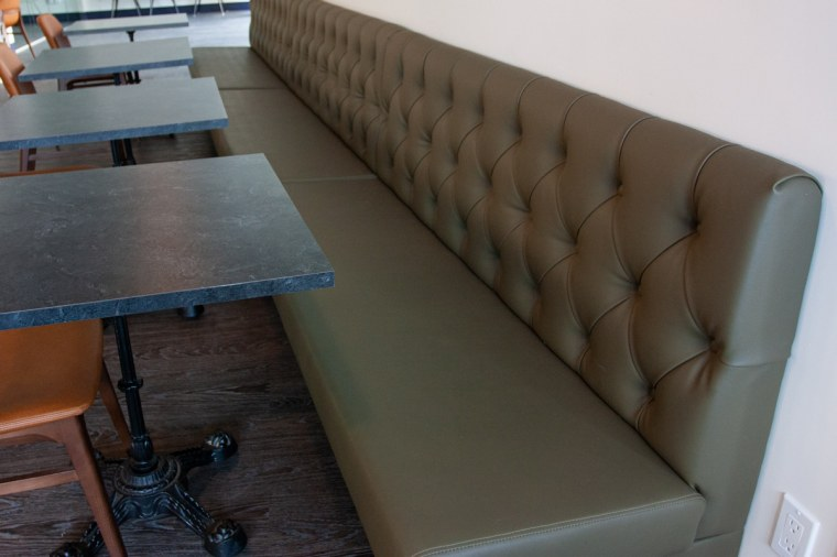 bench seating common ground cafe