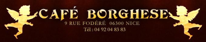Café Borghese in Nice Port