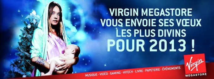 Virgin Megastores in France are closing...
