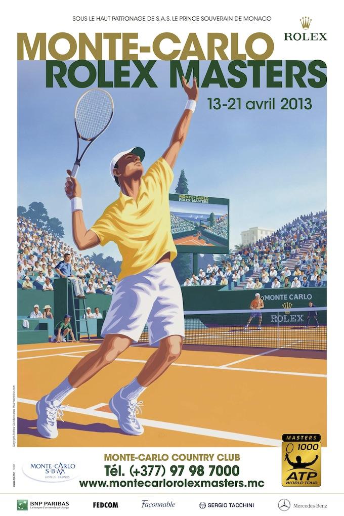 The ATP Monte-Carlo Rolex Masters 2013