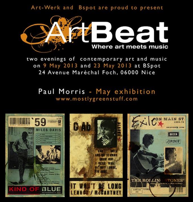 ArtBeat featuring Paul Morris in May