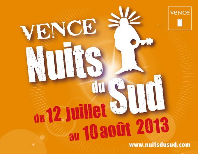2013 Nuits du Sud Festival in Vence
