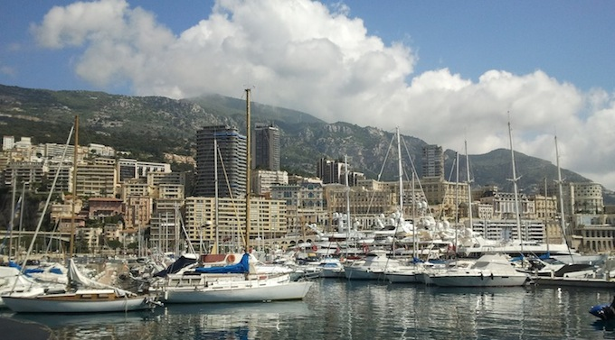 Port Hercule in Monaco