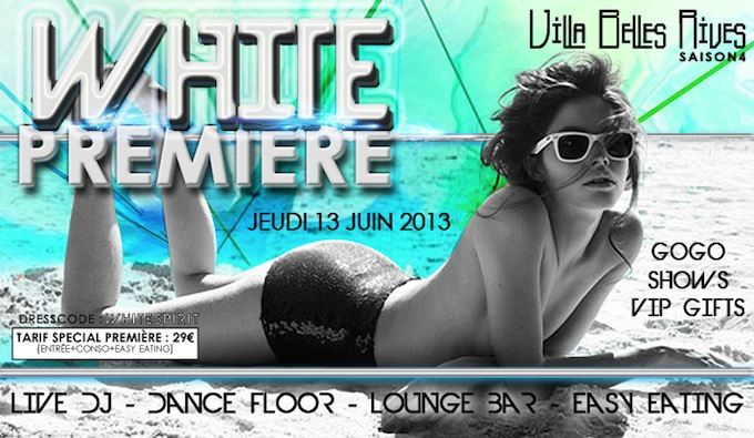 The White Party at Belles Rives in Cap d'Antibes this June