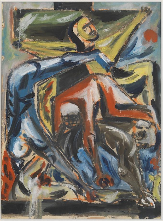 Jackson Pollock Crucifixion