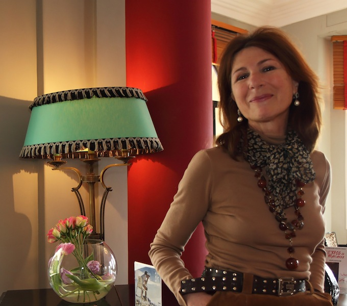 Marianne Estène-Chauvin is the current owner of Hôtel Belles Rives
