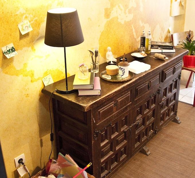 The comfy interior of Nice Life Café