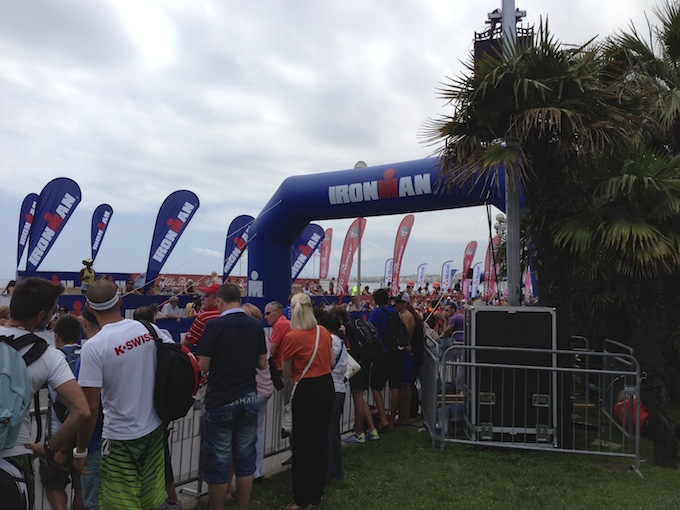 Ironman® France spectators on the Promenade des Anglais