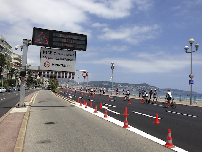 Ironman© France closes Promenade