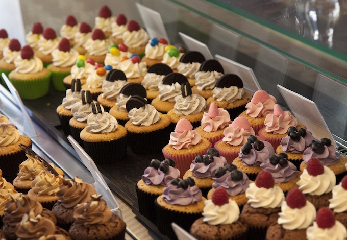 Some of the lovely cupcakes chez Emma!