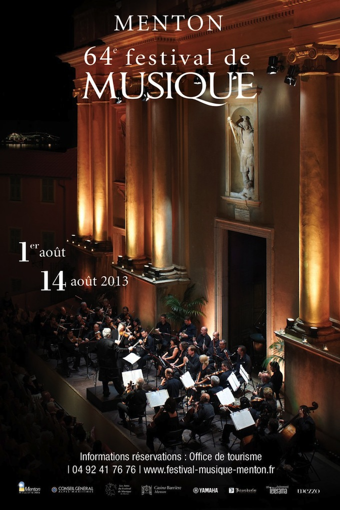 64th Festival de Musique in Menton 2013