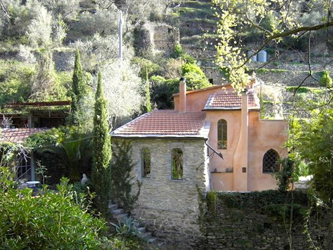The country house in Dolcedo-Lecchiore