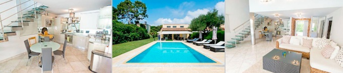 Luxurious villa in Cap Ferrat on the French Riviera from Home Hunts