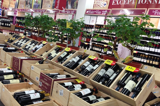 Wine selection for 2013 Foire aux Vins at Carrefour in Nice
