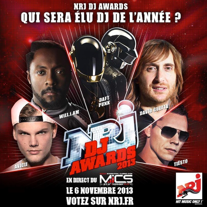 The NRJ DJ Awards 2013 in Monaco