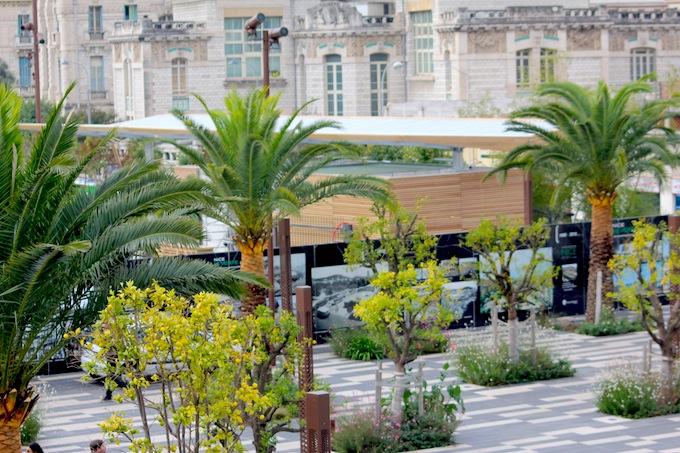 Esplanade de la Bourgada in Nice