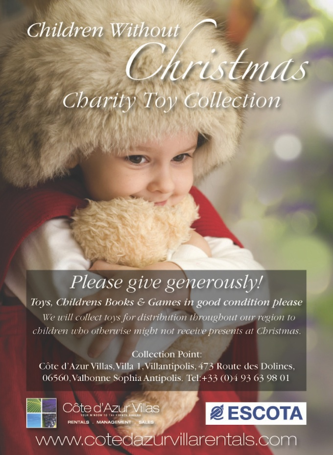 Cote d'Azur Villas Christmas Charity Appeal 2013