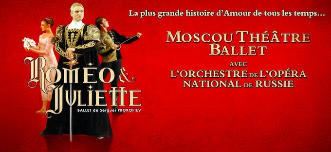 Moscow Theatre Ballet bring Romeo and Juliet to the Acropolis in Nice