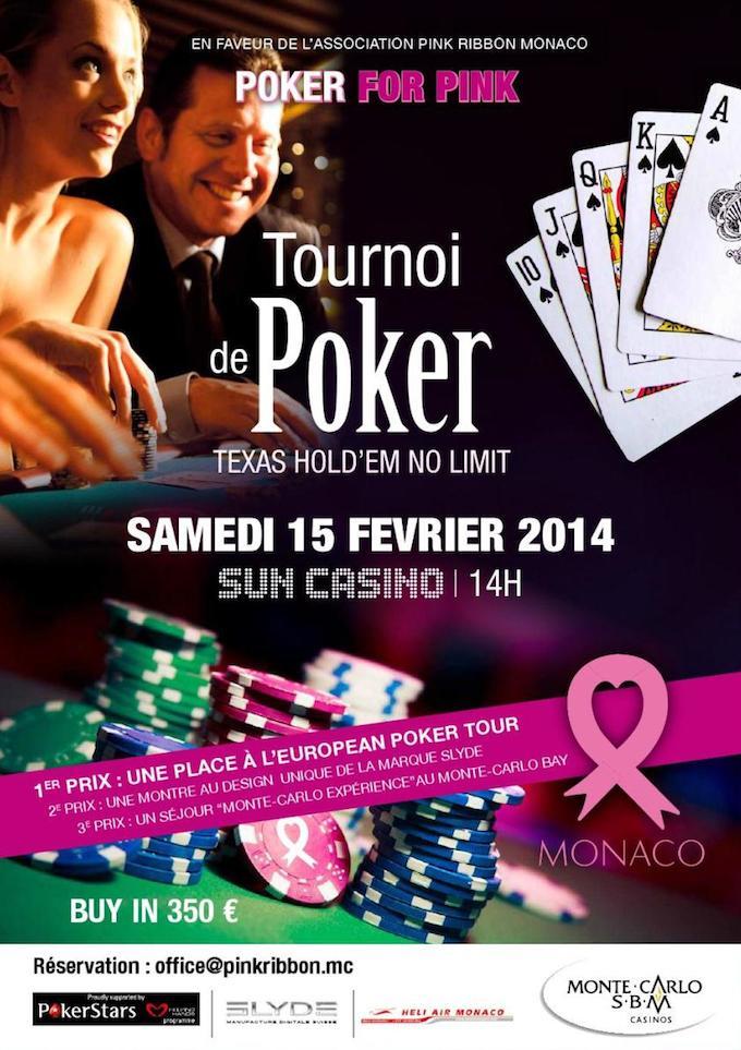 Pink Ribbon Monaco present Poker fro Pink