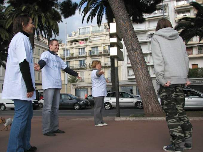 Free Hugs in Cannes and Antibes this weekend!