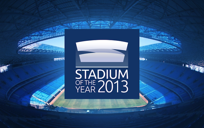 Stadium of the Year 2013 logo