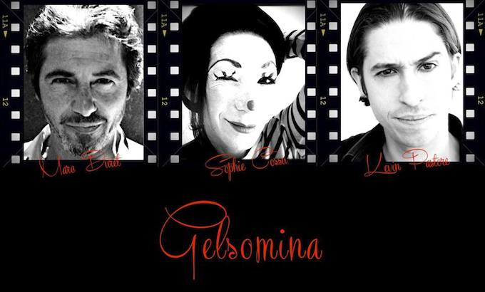 The cast of Gelsomina at Espace Magnan in Nice