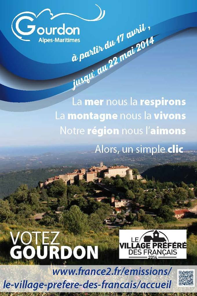 Vote for Gourdon in Alpes-Maritimes!