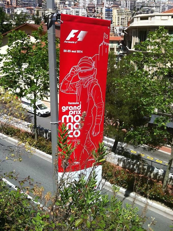 The Monaco 2014 F1 GP