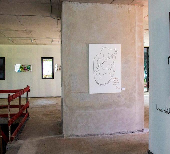 Mike Colquhoun exhibition at Domaine des Artistes